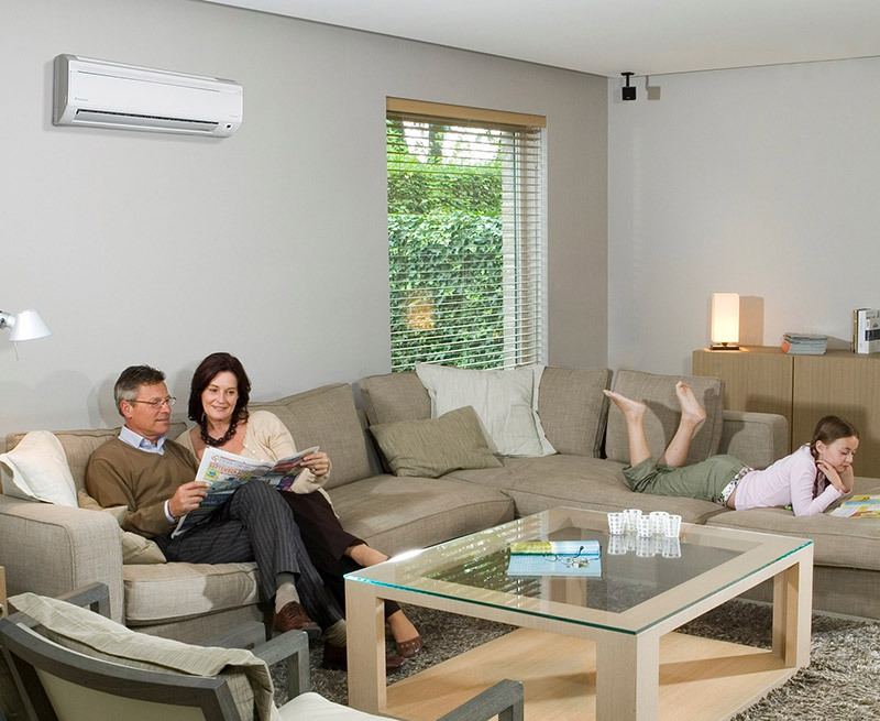 Wall Mounted Family Heatpumps