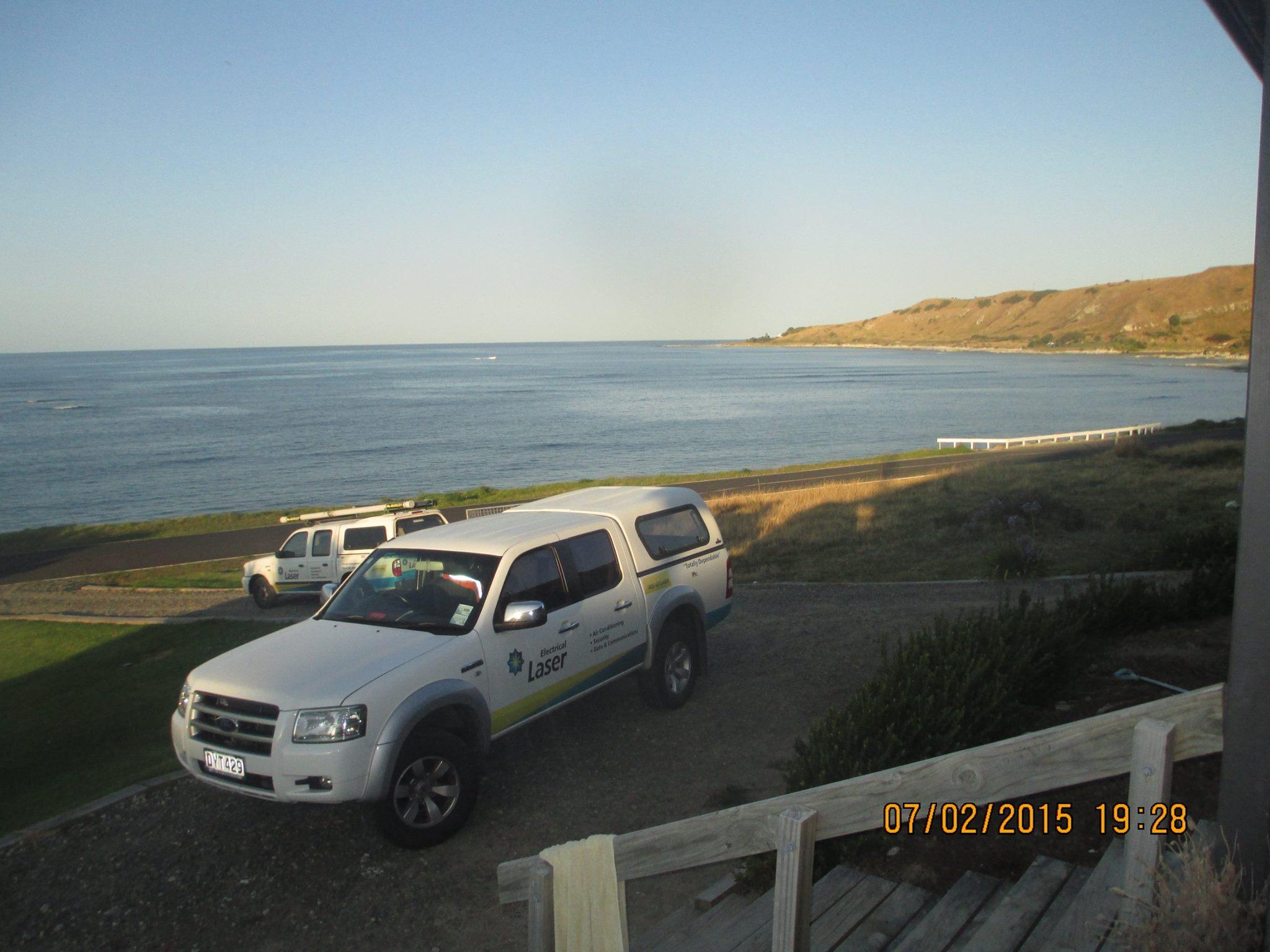 Seaside Views on the Job