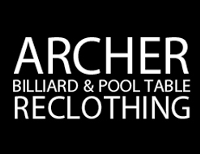 Archer Billiard & Pool Table Reclothing