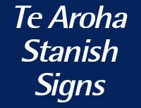 Te Aroha Stanish Signs
