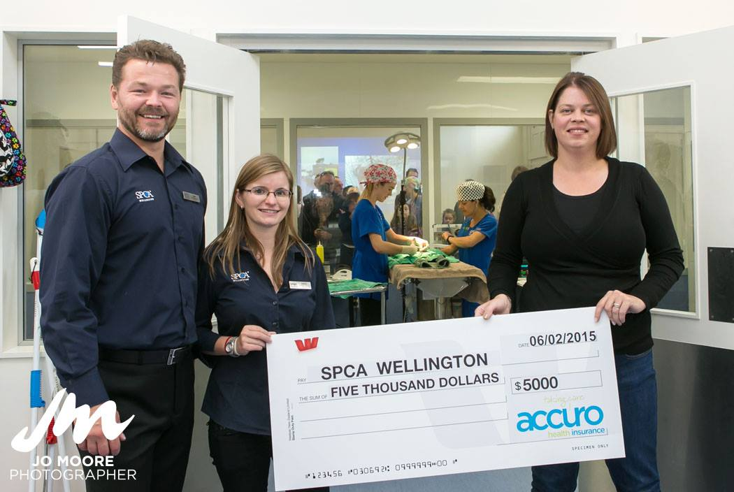 SPCA Charity Cheque