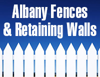 Albany Fences & Retaining Walls