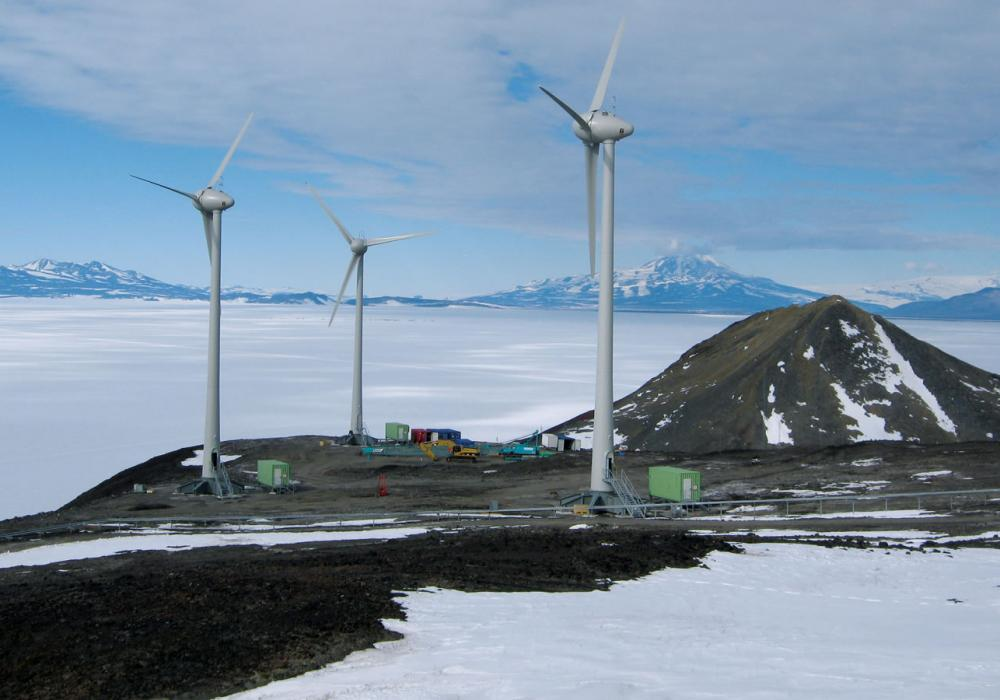 Antarctica Wind Turbine Project