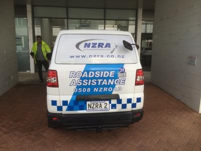 NZRA Roadside van