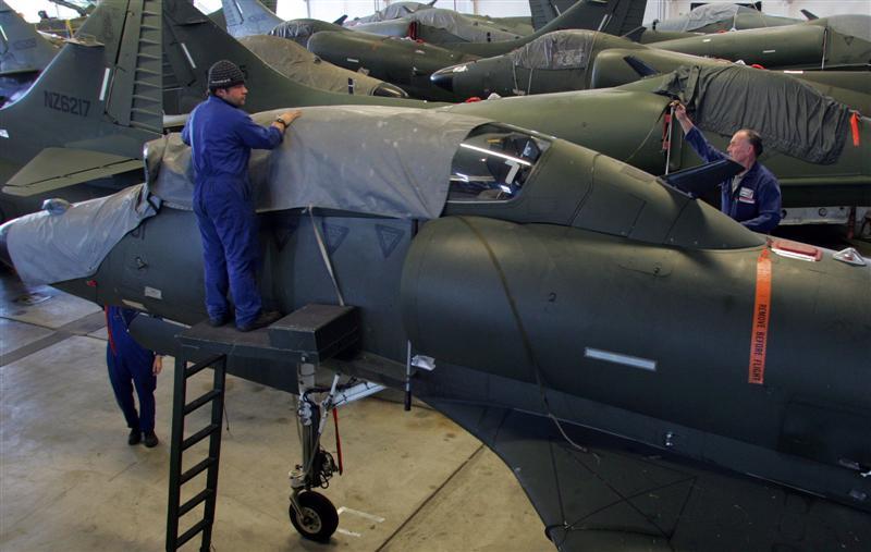 Decommissioning Skyhawks