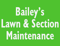 Bailey's Lawn & Section Maintenance