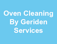 Oven Cleaning By Geriden Services