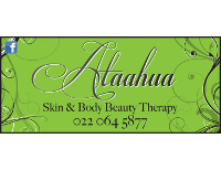 Ataahua Skin and Body Beauty Treatments