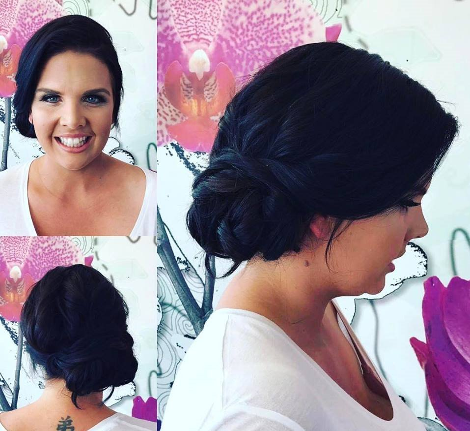 Wedding Hair done By Reflections Hair and Beauty