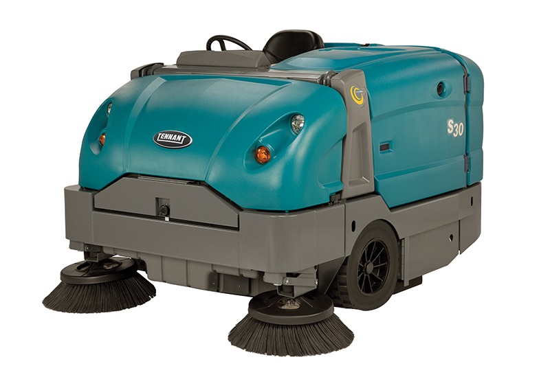 S30 Large Ride-On Sweeper