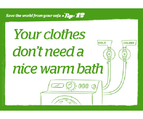 Energy Saving Tip - Hot Water