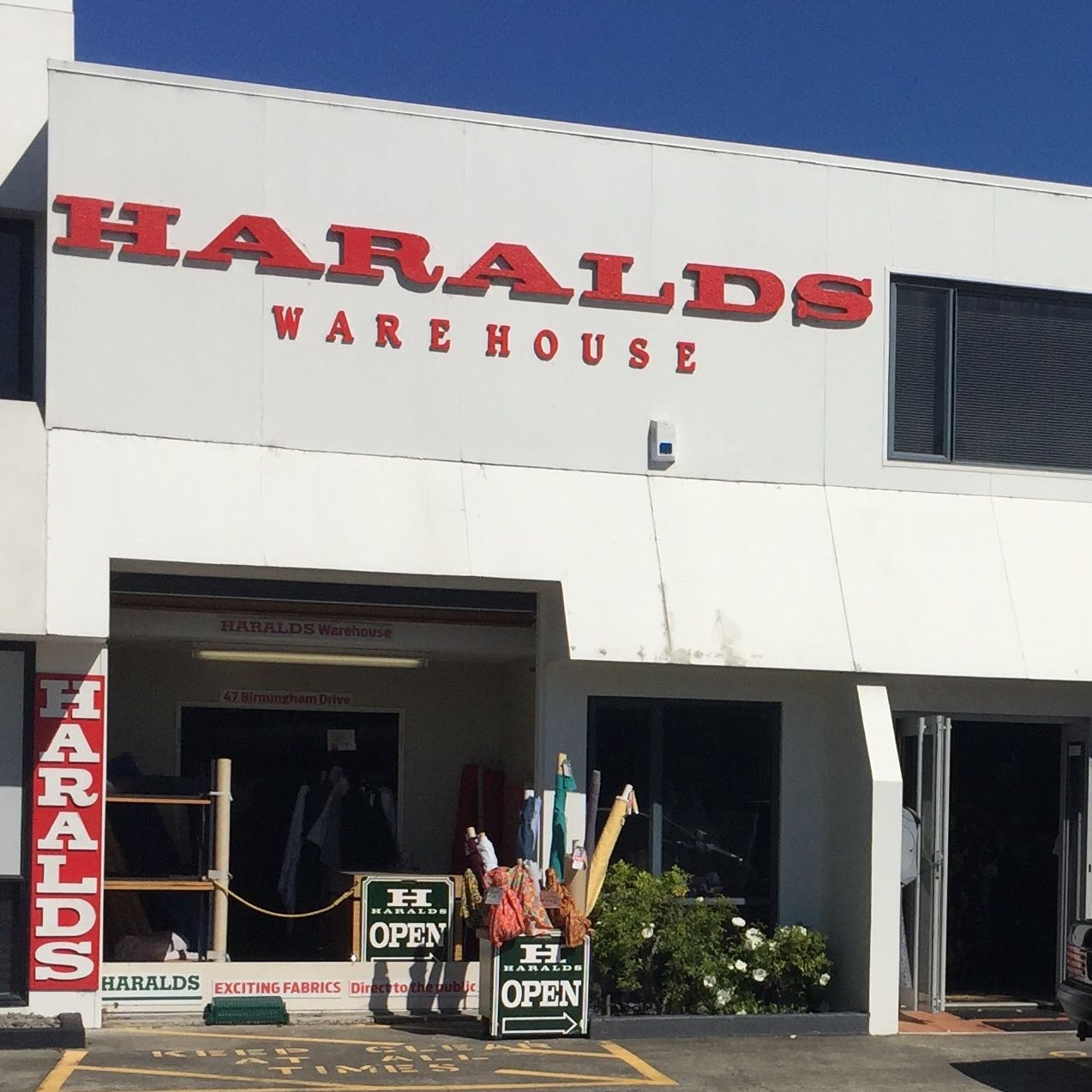 HARALDS Warehouse Fabric Solutions