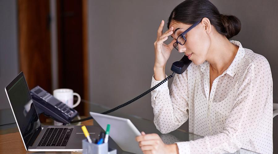 Office Phone Complaint