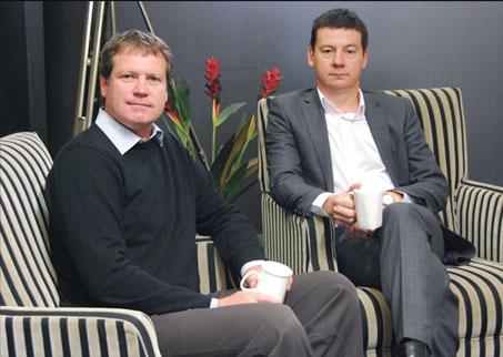 Craig Ireland and Boyd Wilson