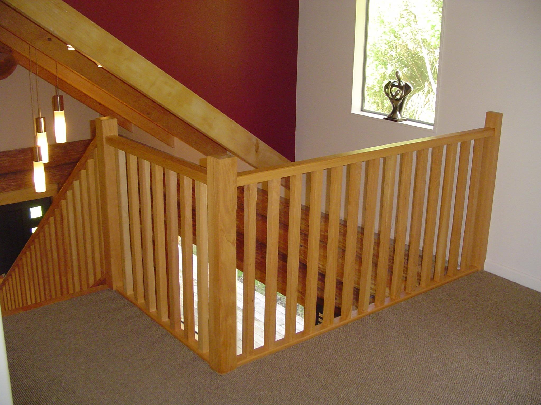 Simple Timber Balustrade
