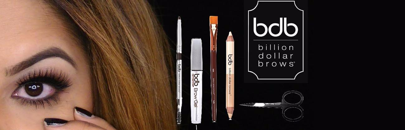 Achieve beautiful eyebrows with our Billion Dollar Brow range
