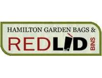Hamilton Garden Bags & Red Lid Bins