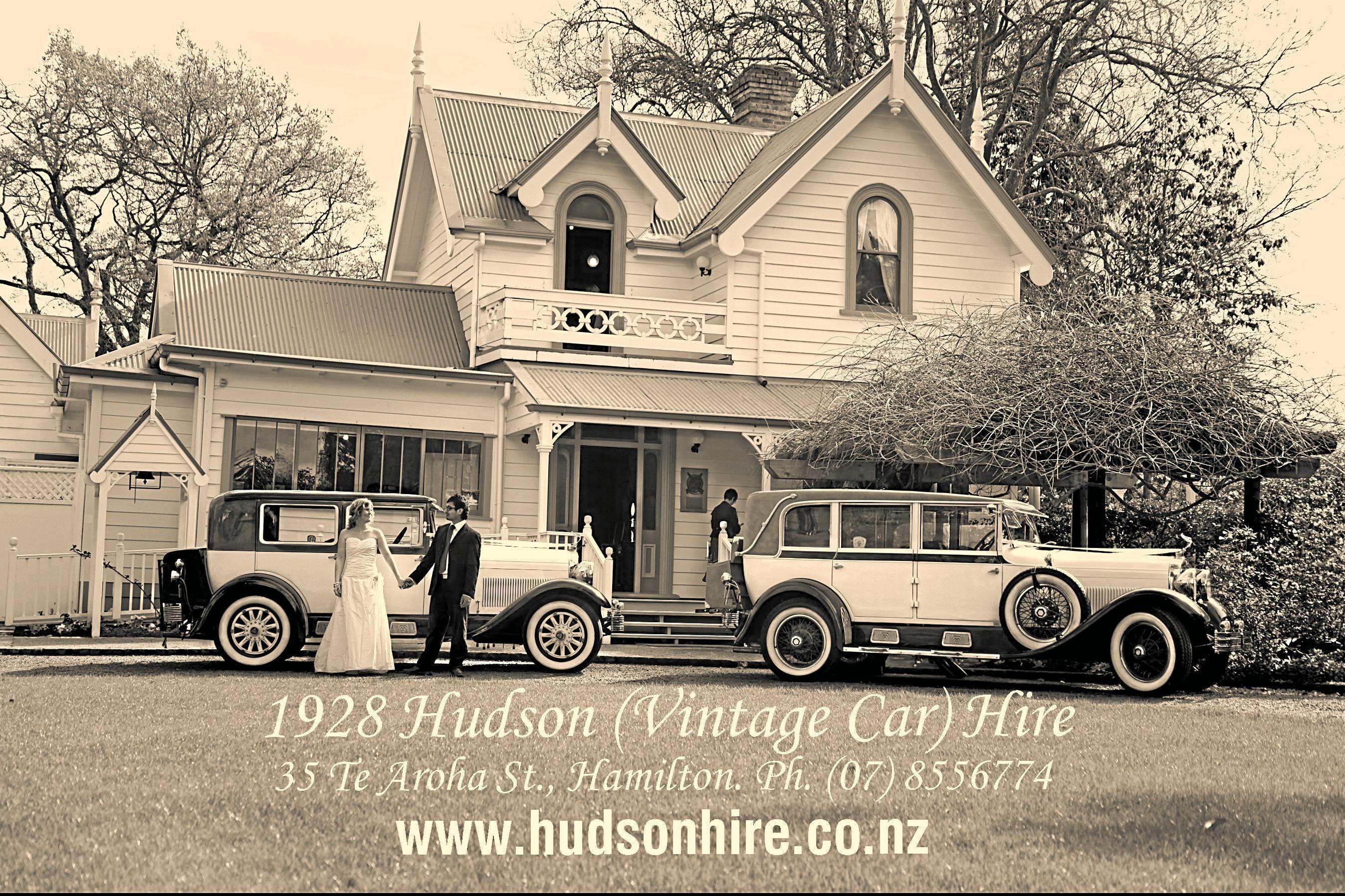 1928 Hudson (Vintage car) Hire promo pic