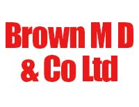 Brown M D & Co Ltd