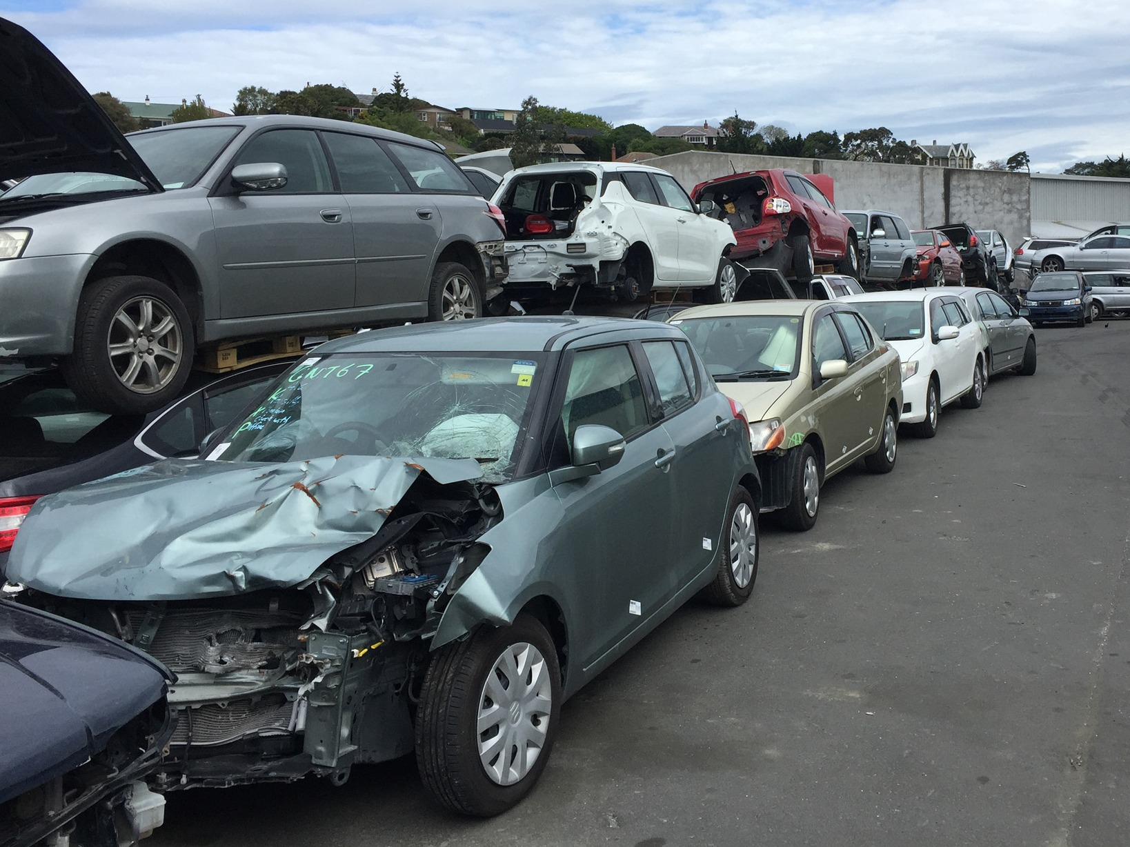 Pacific Auto Parts Ltd Dunedin Yellow Nz
