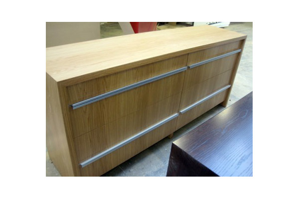 Custom Made American White Oak Drawers