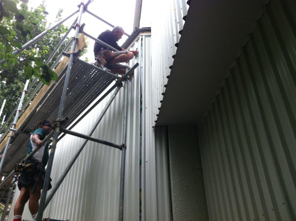 Scaffolding Roofing