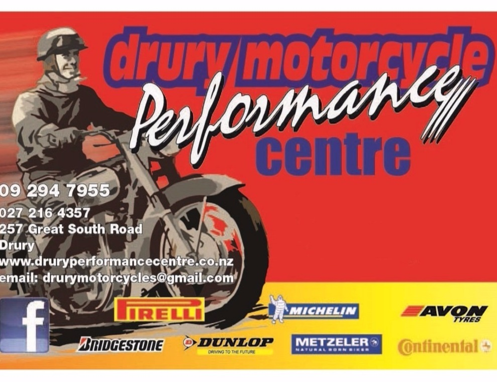 Drury Motorcycle Performance Centre Limited
