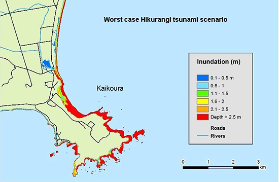 Kaikoura Risk Map