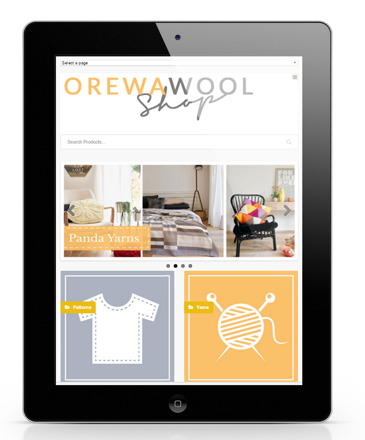 Orewa Wool eCommerce Website Design