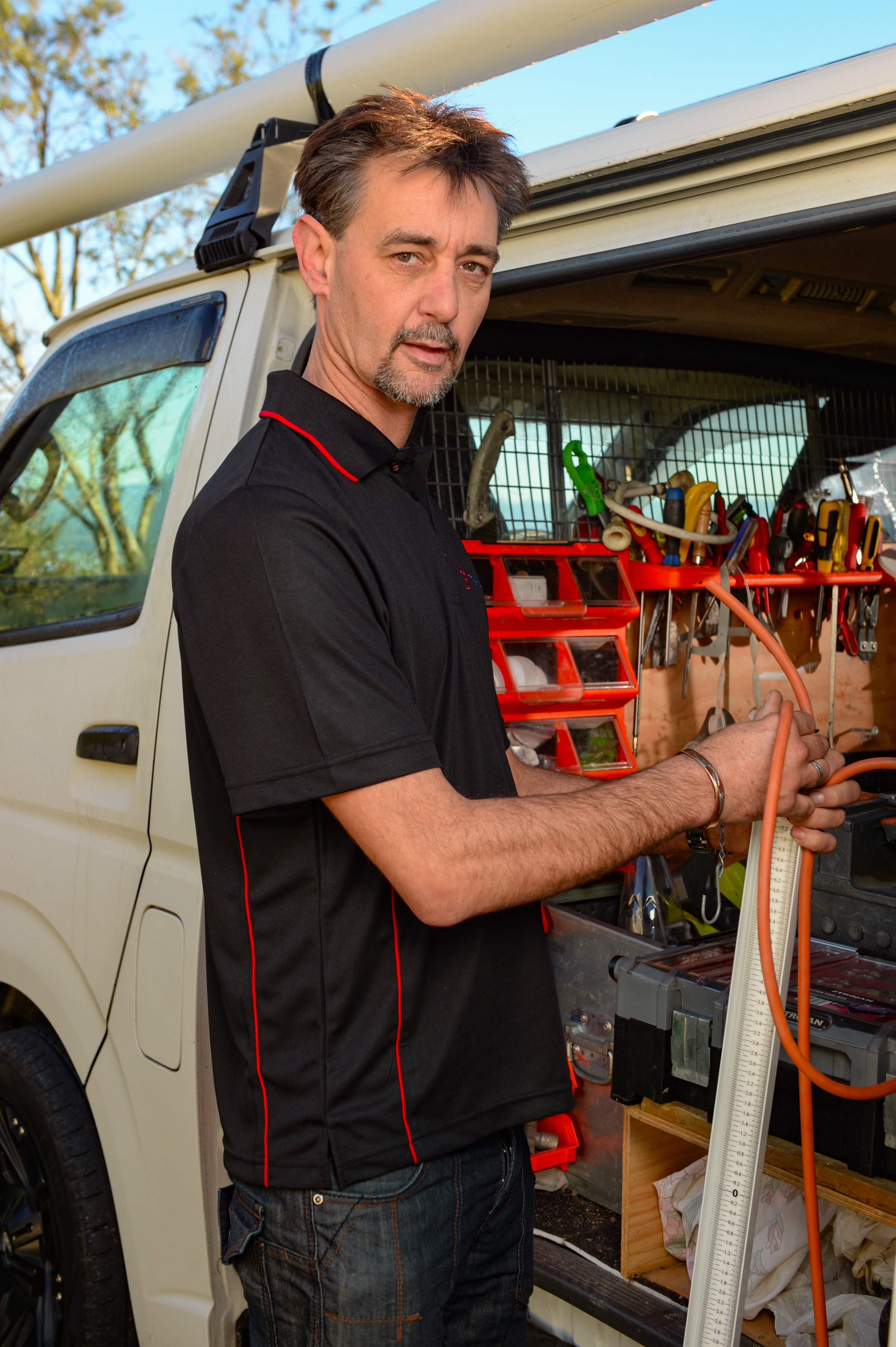 Glen is our leading plumber and gas fitter