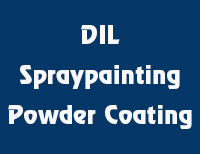 DIL Spraypainting Powder Coating