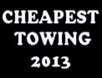 Cheapest Towing 2013