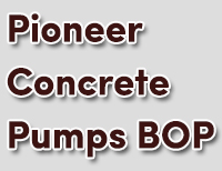 Pioneer Concrete Pumps BOP