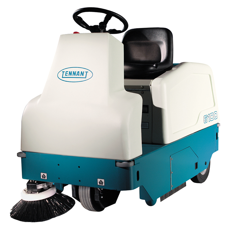 6100 Compact Ride-On Sweeper