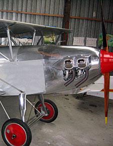 Restoring Stainless Steel Aeroplanes