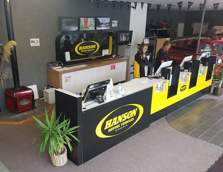 Hanson Rental Vehicles