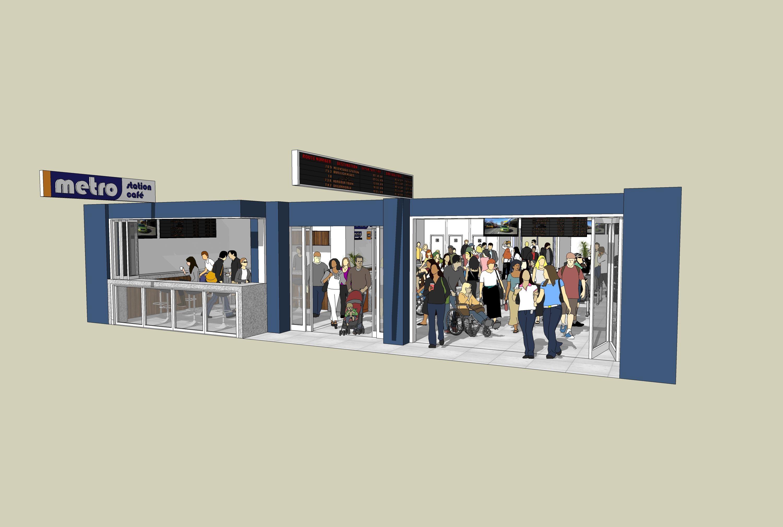 Proposed Riccarton Passenger Lounge