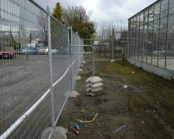 Portable Fencing Right Angle Stay