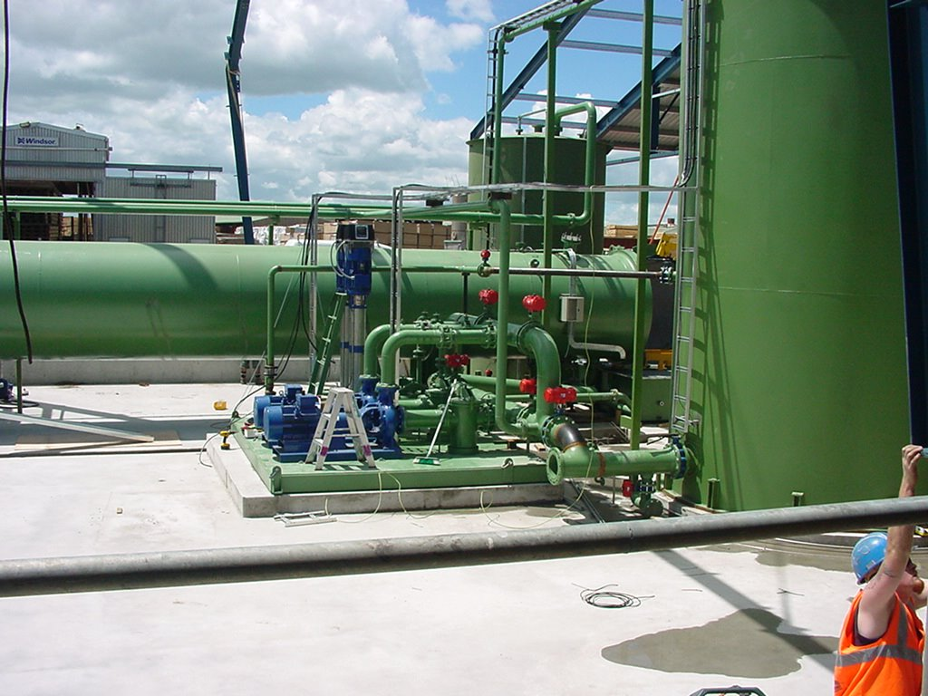 Timber Treatment Plant