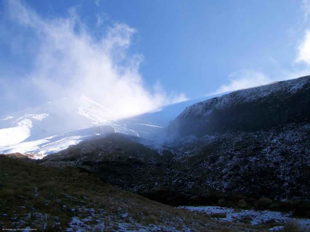 Mount Taranaki Fog