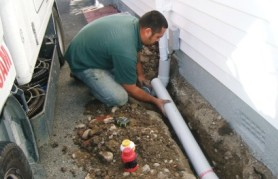 Drainlaying in Wellington