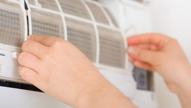 Heat Pump Filter Cleaning