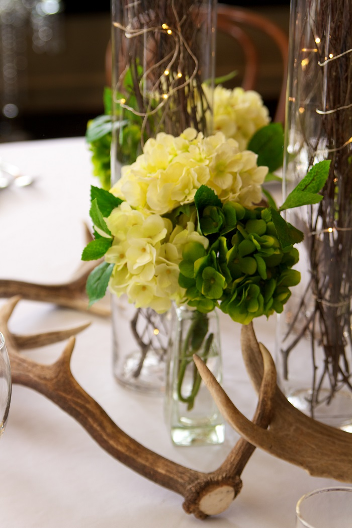 Function Setting with Flowers