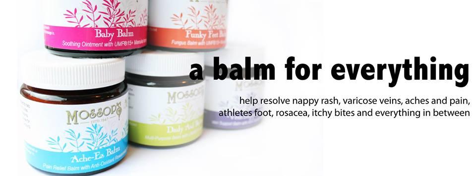 Balms * Ache-Ez, Baby Balm, Daily Aid, De-Vein & Funky Feet