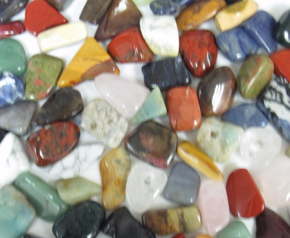 Tumbled stones - over 100 types