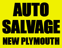 Auto Salvage New Plymouth