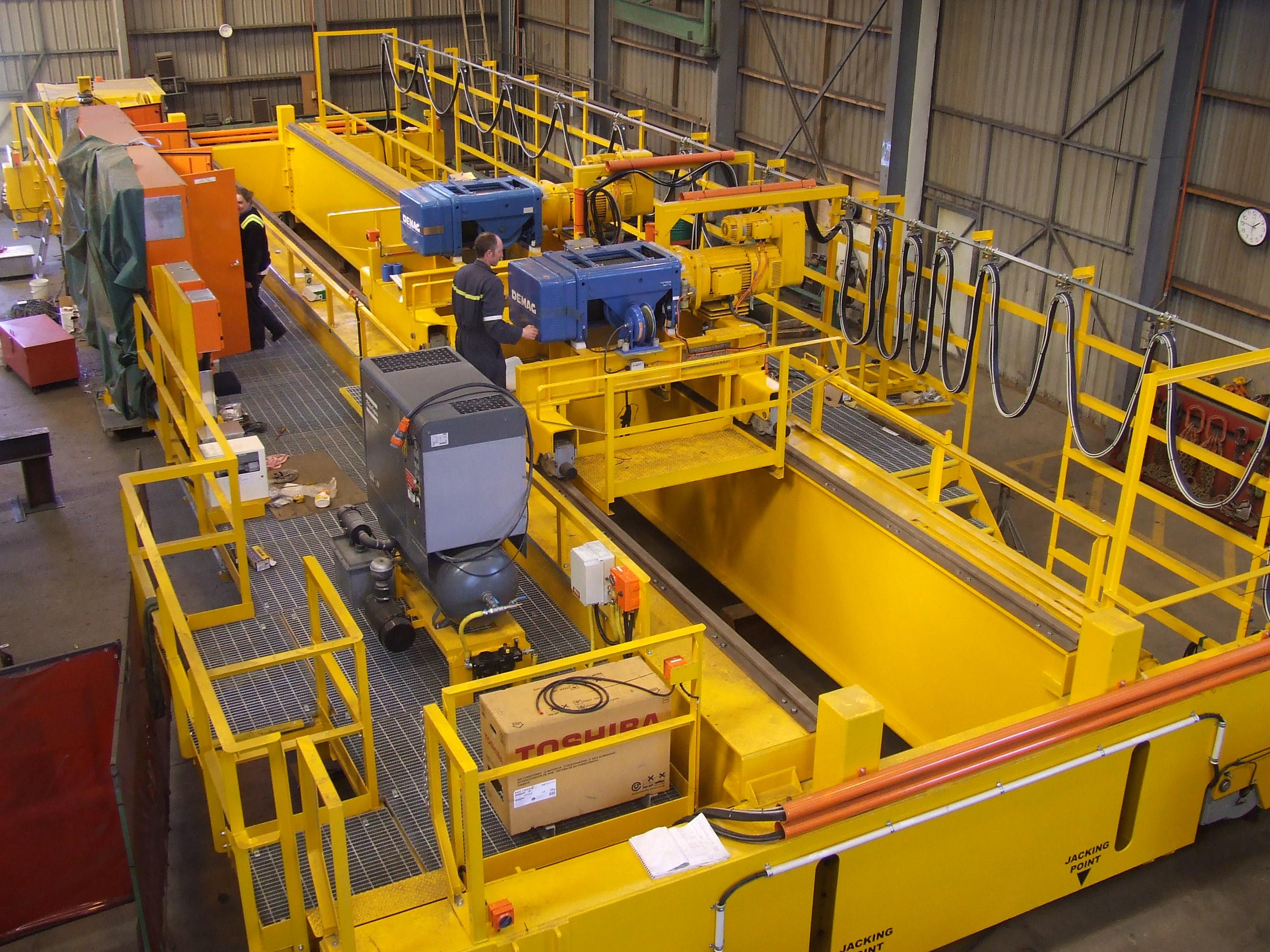 E-Type Demag Crane Fabrication