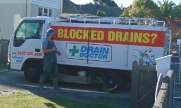 Drain Unblocking Truck in Wellington