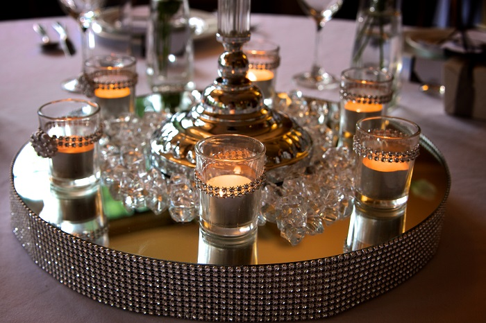 Function Room Candle Setting