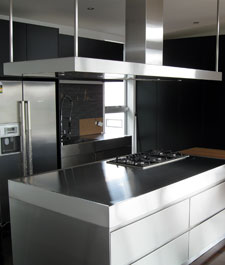 Restoring and Cleaning Stainless Steel Kitchens